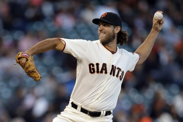 Giants' Madison Bumgarner Strikes out 55 in Historically Effective August