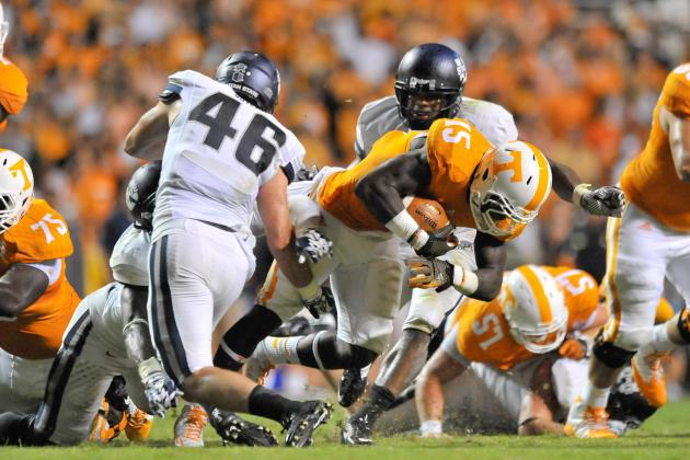 Jacob Gilliam's Injury Exacerbates Tennessee's Run Game Issues