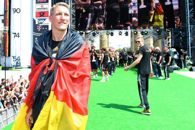 Bastian Schweinsteiger Named New Germany Captain by Joachim Low