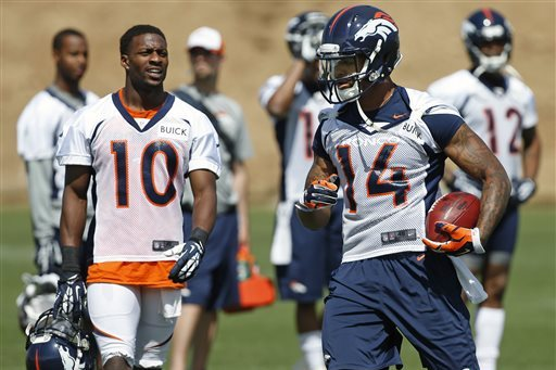 Emmanuel Sanders, Cody Latimer's Fantasy Outlook Following Wes Welker Suspension