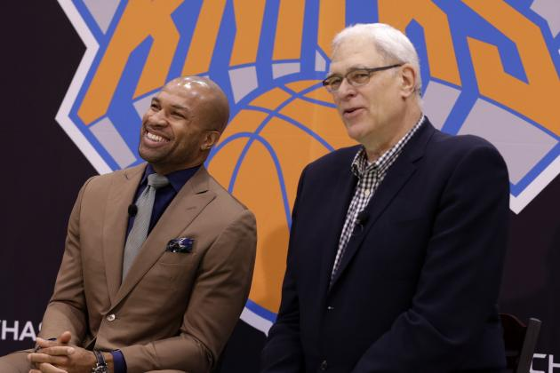 Derek Fisher's First Season with NY Knicks Will Reflect Directly on Phil Jackson