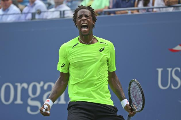 2014 US Open: Gael Monfils Leads Pack of Men Who Could Spoil Djokovic V Federer