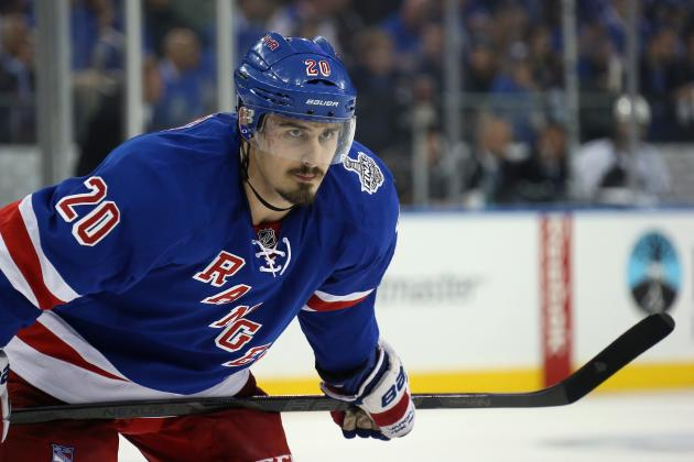 What Type of Production Can Rangers Expect from Chris Kreider in 2014-15?
