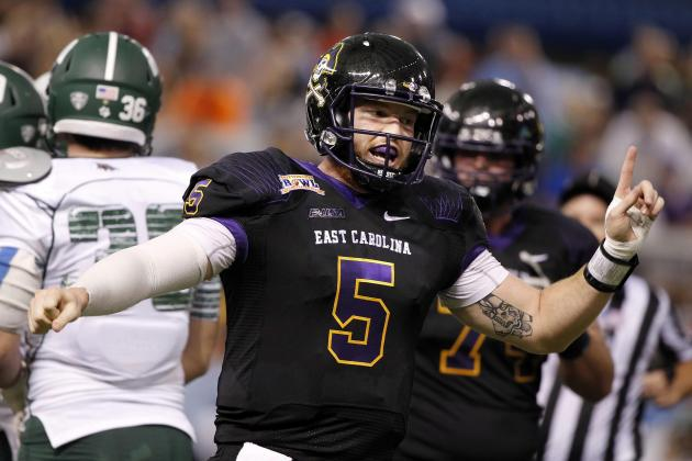 East Carolina Offense Makes It Possible to Upset South Carolina Gamecocks