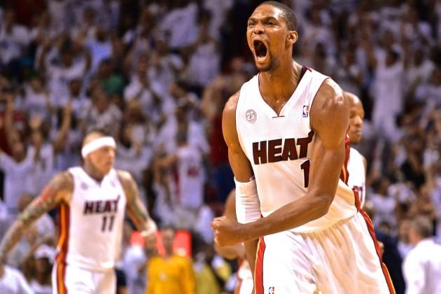 Without LeBron James, Chris Bosh's Role Set to Evolve Again for Miami Heat