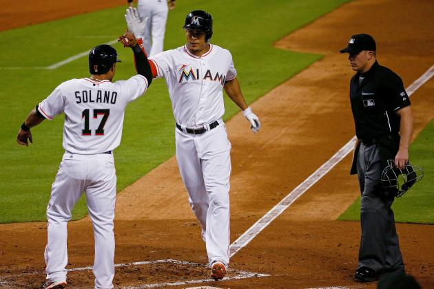 Stanton Picks Up 100th RBI, 35th HR in Loss