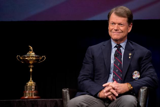 Ryder Cup: Tom Watson and Paul McGinley Both Play It Safe with Picks