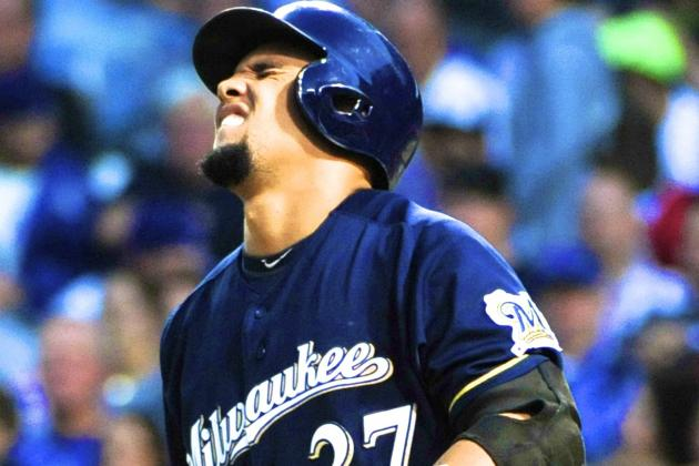 Carlos Gomez's Injury Pushes Struggling Brewers' Cinderella Season to the Brink