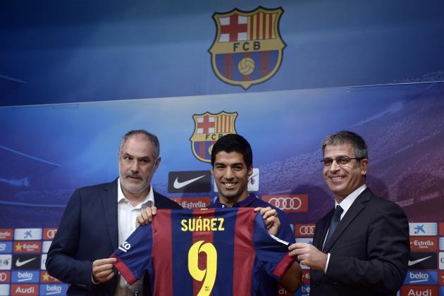 Barcelona Transfer News: Luis Suarez Fee Publicly Named, Net Spend Revealed