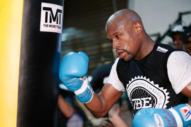 Floyd Mayweather Hits Back at 50 Cent Challenge, Taunts 'Dirty' Marcos Maidana
