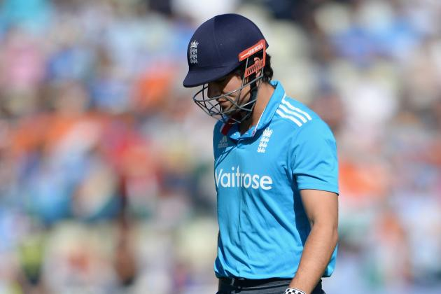 Cricket Statistics: Why Alastair Cook Should Be Dropped from England ODI Team