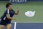Watch: U.S. Open Ball Girl Runs Down Rogue Bag