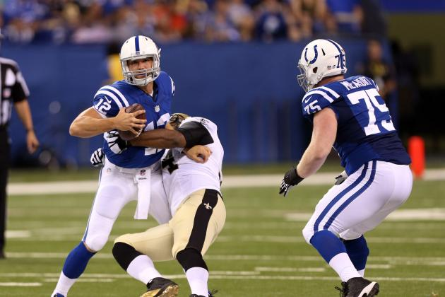 Indianapolis Colts Have Weapons, but Offensive Line Will Determine Fate in AFC