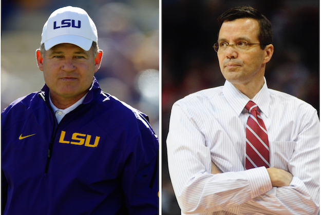 The Other 'Coach Miles' Wants People to Stop Tweeting Him About LSU Football