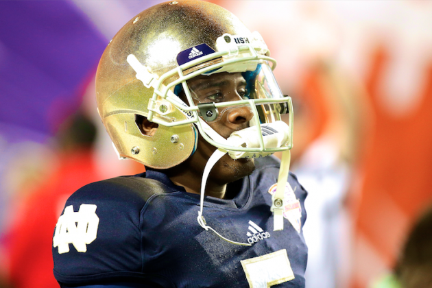 Everett Golson's Redemption Story Riding on Michigan Game