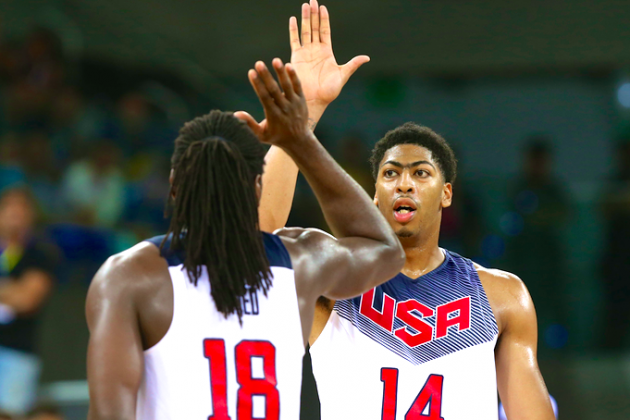 Kenneth Faried's and Anthony Davis' Motors Are Redefining Team USA