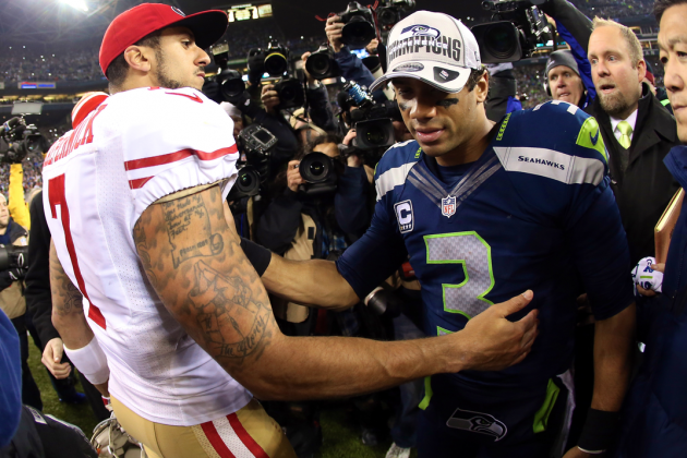 Russell Wilson vs. Colin Kaepernick: Not Saint vs. Sinner