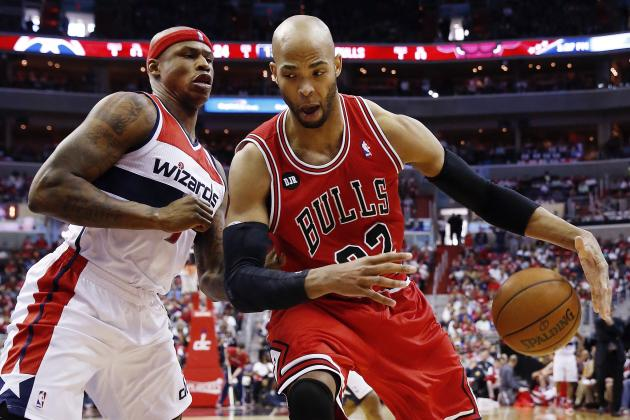 How Does Taj Gibson Fit into Chicago Bulls' Elite Front Line?