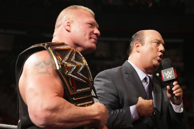 Analyzing Brock Lesnar and WWE's History of Part-Time Champions