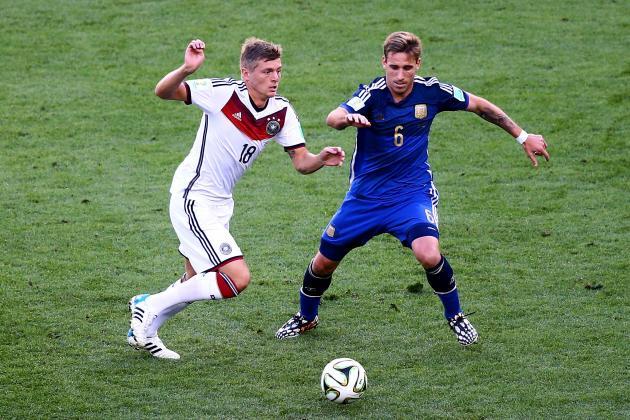 Germany vs. Argentina: Live Score, Highlights from International Friendly