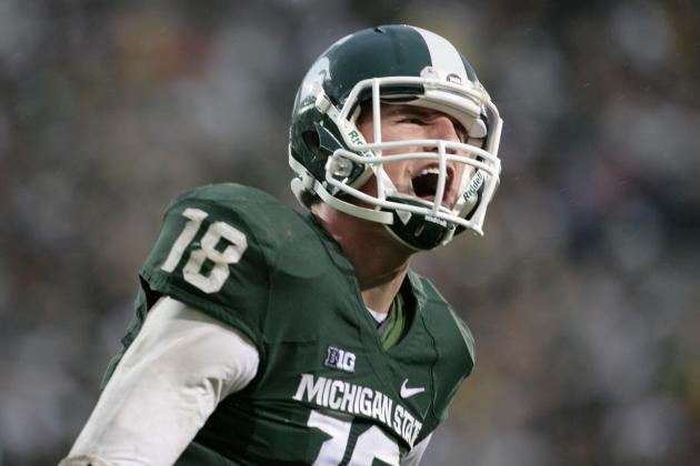 Connor Cook vs. Oregon: MSU'S Passing Attack Will Be Able to Keep Up with Ducks