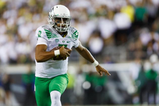 Marcus Mariota vs. Michigan State: Why Balanced Attack Is Key for Oregon Victory