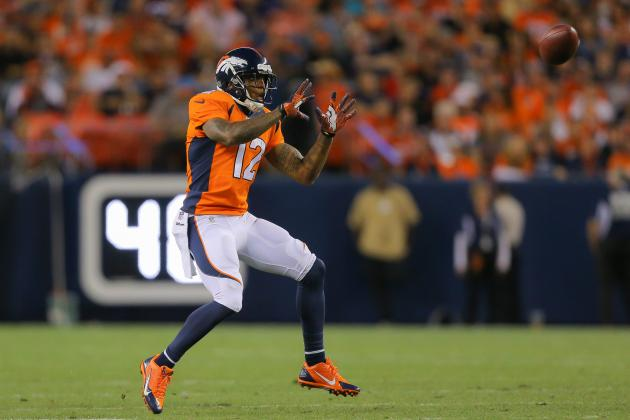 Wes Welker's Absence Makes Broncos WR Andre Caldwell Fantasy Must-Have