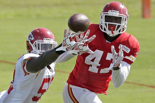Chiefs Tight End Demetrius Harris Knew How to Relax on Cut Day