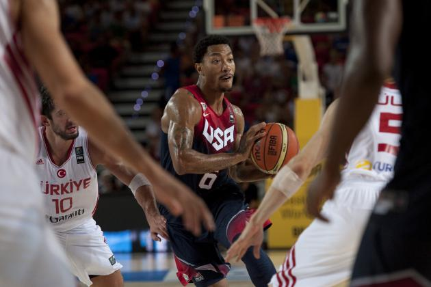 USA vs. Ukraine: TV Info, Live Stream and Preview for FIBA World Cup 2014