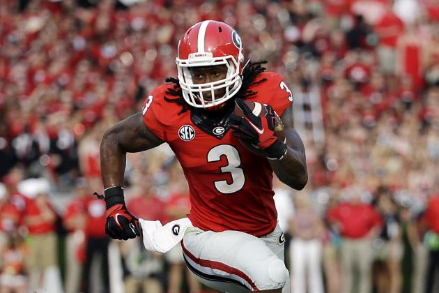 Predicting Todd Gurley's Stats for Each Remaining Georgia Bulldogs Game
