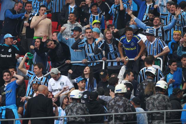 Gremio Banned from Copa Do Brasil for Racist Abuse Aimed at Santos Keeper Aranha