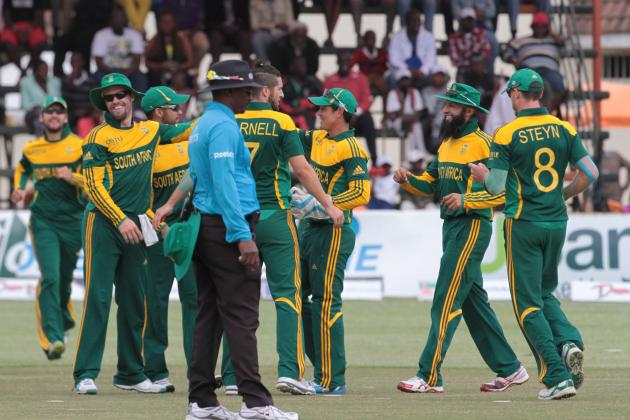 Zimbabwe vs. South Africa, 2014 Triangular Series: Scorecard, Highlights, Report