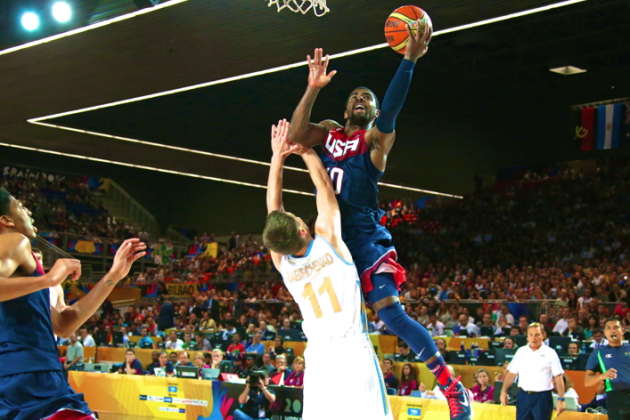 USA Basketball vs. Ukraine: Live Score and Highlights for FIBA World Cup 2014