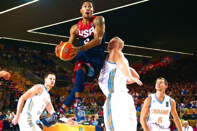 USA vs. Ukraine: Score and Twitter Reaction for FIBA World Cup 2014