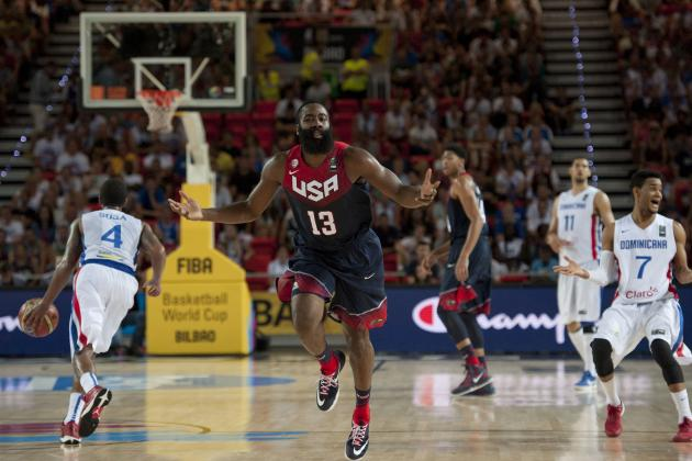 USA Basketball vs Ukraine: Game Grades, Analysis for FIBA World Cup 2014 Matchup