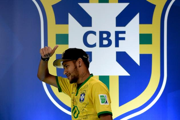 Neymar to Captain Brazil vs. Colombia: Latest Details and Reaction