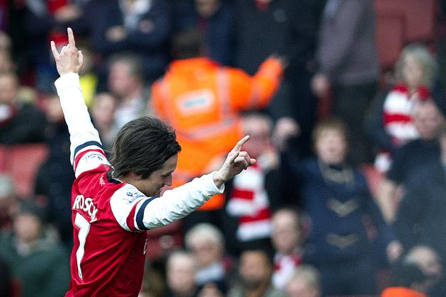Arsenal Transfer News: Gunners Don't Need Unhappy Tomas Rosicky