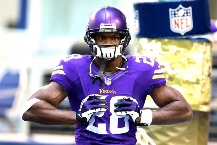 Adrian Peterson Predicts That He Will Once Again Score on 1st Carry of Season