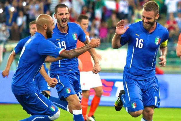 Italy vs. Netherlands: Live Score, Highlights from International Friendly