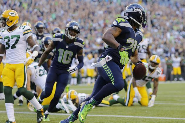 Marshawn Lynch's Instant Fantasy Reaction After Week 1 vs. Packers