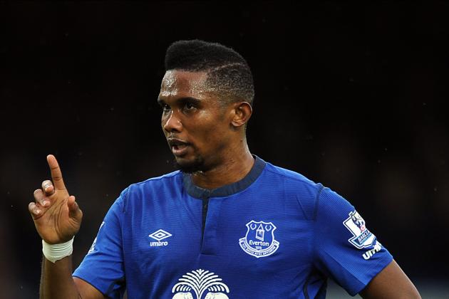 What Can Everton Realistically Expect from Samuel Eto'o?