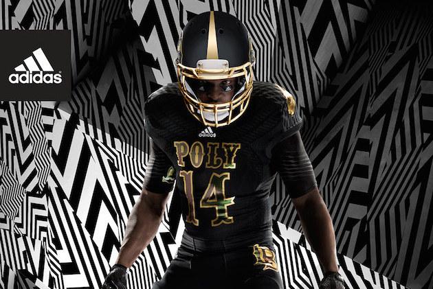 Long Beach Poly Football Uniforms