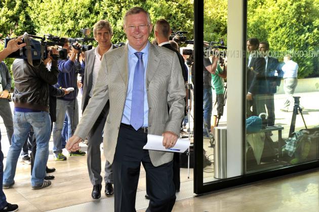 Sir Alex Ferguson Reveals UEFA Is Considering Sin Bins to Cure Diving 'Disease'