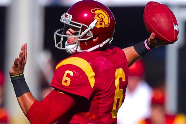 USC vs. Stanford: Underrated QBs Cody Kessler, Kevin Hogan Fight for Spotlight