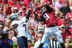 WR Cooper Ties Alabama Receiving Record