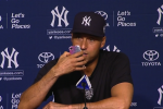 Jeter Answers Reporter's Phone During Presser