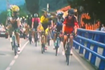 Cyclists Come to Blows Mid-Race