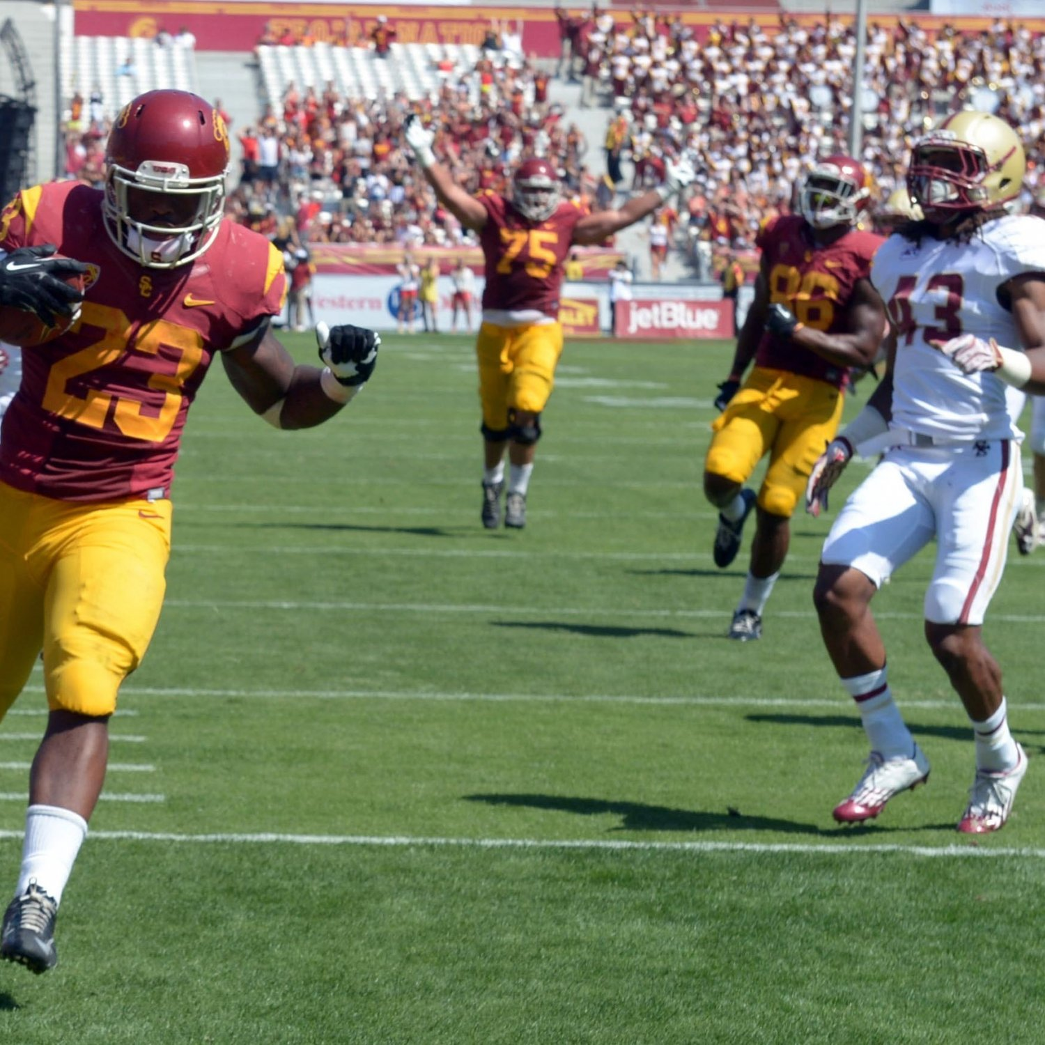 Kevon Seymour Usc The Latest USC Trojans...
