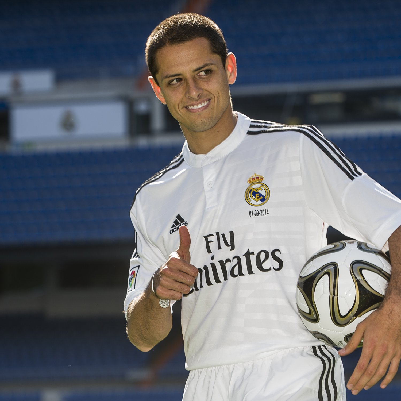 Javier Hernandez Real Madrid: Javier Hernandez Weighs In On Cristiano Ronaldo Vs. Lionel