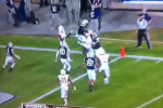 Watch: Houston Snares Hail Mary TD to End Half